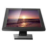 """17"""" Vga Touch Screen Led Display Monitor Pos Stand Cash Register Vod System"""