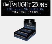 2019 Twilight Zone Rod Serling Edition Trading Cards Factory Sealed Box + Promo