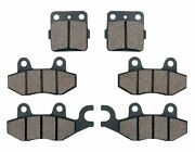 Front And Rear Brake Pads For Yamaha Yfz450 Yfz 450 Yfz450s Yfz450t 2004 2005
