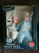 Vintage 1979 Gerber Baby Doll Rolling Eyes Spoon Barley With Box Rare