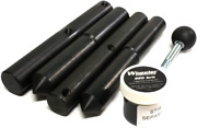 Wheeler Scope Ring Alignment And Lapping Kit Combo 1 Inch And 30mm Black