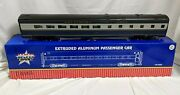 Usa Trains R31043 Baltimore And Ohio Bando Diner Aluminum Passenger Car G Scale Fw20