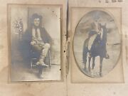Civil War Capt.b.t. Brown Photograph And Messmate Tennessee Ruckers Legion