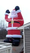 New Christmas Huge Commercial Inflatable 35and039 Foot Santa Claus Free Shipping