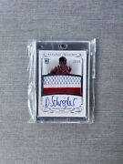 2013-14 Panini Dennis Schroder National Treasures Rc Auto Patch /99 Rookie Rpa