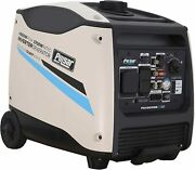 Pulsar 4500-w Portable Rv Ready Gas Powered Inverter Generator With Remote Start