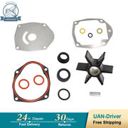Water Pump Impeller Kit For Mercury And Mariner Outboard By 40-250hp 47-43026q06