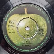 Very Rare Let It Be Pressing With Polo Ring Centre Beatles Apple
