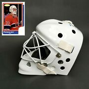 Patrick Roy Montreal Canadiens1986 Rookie Signed Replica Goalie Mask Phg Sports