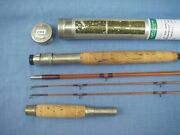 Edwards Bamboo De Luxe Tournament Fly Rod. 1 Of 3 Known To Exist.