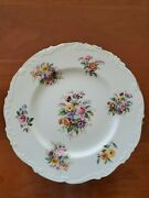 Coalport Fragrance 10-3/4 Dinner Plates Excellent Condition Lot Of 7