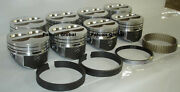 Speed Pro Chevy 350/5.7 Lt1 Hypereutectic Coated Skirt Pistons+moly Rings +.040