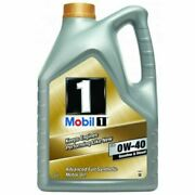 Mobil 1 Fs 0w40 153669 Fully Synthetic Engine Oil 5 Litres 5l
