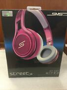Sms Audio Street On-ear Headphones - Pink Wired