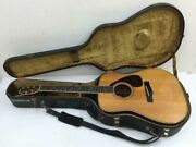 Yamaha L-10 Late Model Natural Acoustic Guitar W/ Hard Case Shipped From Japan