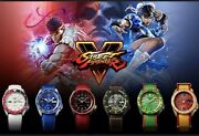 Complete Seiko 5 Street Fighter V Watch Collection Usa Shipper No Customs Fees