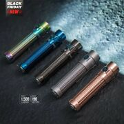 Olight Warrior Mini Seasons Bundle With Obulbs And Silicone Caps Ready To Ship