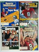 Sports Illustrated 1995 San Francisco 49ers Steve Young And Joe Montana Lot Of 4