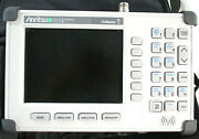Anritsu S331d Sitemaster Station W/ Zipper Case And Manualfor Parts/ Repair