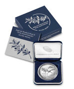 Silver End Of World War 2 Ii 75th Anniversary Medal - In Hand Sealed - Fast Ship