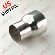 Us Ship 3 Od To 4 Od Stainless Steel Weldable Exhaust Reducer Connector Pipe