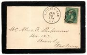 Mailing Envelope Hand-addressed By Mary Todd Lincoln - Abraham Lincolnand039s Wife