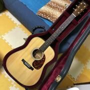 Headway Hd-115 Mag/std Natural Acoustic Guitar S/n S00734 Made In Japan