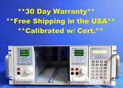 Chroma 6314 Mainframe For 4 Load Modules W 63103 And 63102 Dc Load Modules