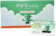Mint Mobile Prepaid Sim Card With Unlimited Talk And Text 10gb/month Lte For 3 Mo