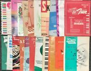 Lot Of 22 Piano Lesson Books - Steiner, Burnam, Thompson And More