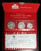 San Francisco Mint Haiti 1976 Silver 3 Coin Proof Set - Extremely Low Mintage