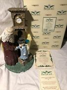 Belsnickle Father Time 1999 Annual Figurine 543616 By Enesco With Coa