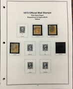 United States Collection Of 75 Official Stamps O2//o120. Used/mint. Cv 3378.00.