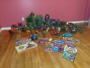 Huge Giant Lot 1980s Vintage He-man Collection Used Motu Masters Of The Universe