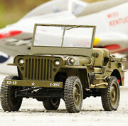 Rc Truck 4x4 Jeef 110 Ford Gpw 1941 Wwii Willys Mb 4wd Us Army Jeep 2.4g Rtr