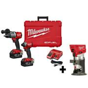 Milwaukee M18 Fuel Hammer Drill Impact Driver Router 18v Brushless Cordless