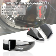 100mm Carbon Air Duct Caliper Brake Cooling For Ducati Hypermotard 950 2019-20