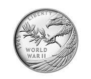 In Hand End Of World War Ii 75th Anniversary Silver Medal Free Ship