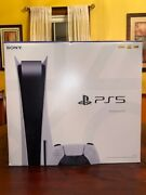 Sony Playstation 5 Console Disc Edition In Hand Ready To Ship Brand New