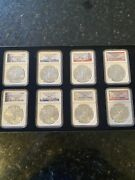 2012 Branch Mint Silver Eagle Collection Set 130 Out Of 500
