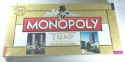 Monopoly Trump Entertainment Resorts Collector's Edition New, Sealed