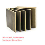 100andtimes100mm Aluminum Bronze Plate Sheet Zcual03sn09 Board Thickness 6 8 10 12mm