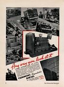 1937 Cummins Diesel Engines Ad Oil Field Applications And Operations Pictured