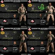 Mezco New One12 Ghostbusters Deluxe Set 112 Scale Movie Action Figures