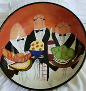 Certified International Dinner Is Served Tracy Flickinger Waiters 13 Pasta Bowl
