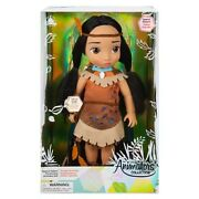 Disney Store Pocahontas Special Edition 16 Large Animator Doll Light Up Leaves