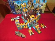 Lego 70010 Legends Of Chima Lion Chi Temple Parts Mini Figs Directions Box There