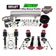 Air Lift 4way Manual Air Ride Management And Suspension Bags Kit Fit Nissan 350z