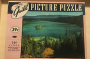 2- Vintage Puzzles 1000 Piece Whitman And 304 Piece Guild Both Complete