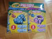 New Crayola Meltand039n Mold Factory + Bling Rings Refill + Cruisers Refill Pack